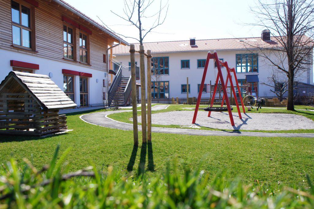 Außenanlage Kindergarten